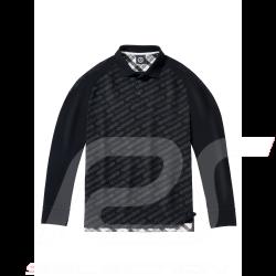 Mercedes Polo shirt Classic long sleeves Black Mercedes-Benz B66041592 - men