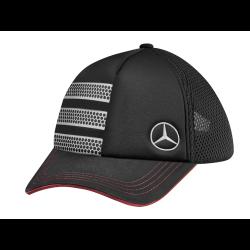 Casquette cap kappe Mercedes Actros coton cotton baumwolle noir black schwarz Mercedes-Benz B67871301