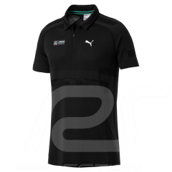 Mercedes Polo shirt AMG Motorsport Puma evoKnit Black Mercedes-Benz B67996255 - men