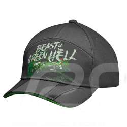 Casquette cap kappe Mercedes AMG GT R enfant kid kinder edition édition Beast of the green hell polyamide polyamid grise gray gr