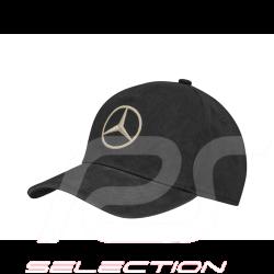 Mercedes woman cap embroidered logo cotton black Mercedes-Benz B66954533