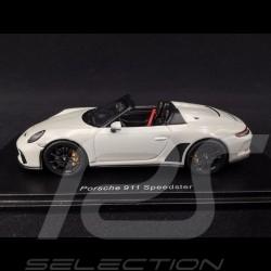 Porsche 911 type 991 Speedster 2019 gris craie 1/43 Spark S7632 chalk grey grau