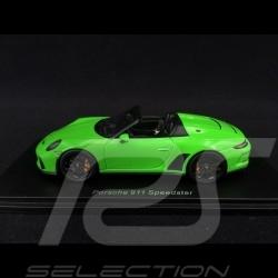 Porsche 911 type 991 Speedster 2019 vert lézard 1/43 Spark S7633 lizard green Lizardgrün