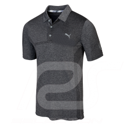 Mercedes Polo shirt Puma Golf Black Mercedes-Benz B66450332 - men