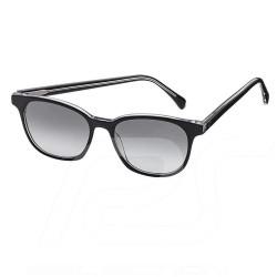 Lunettes de soleil sunglasses sonnenbrille Mercedes Casual acétate acetate acetat monture noire verres gris black frame gray len