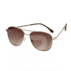 Mercedes sunglasses for women Business steel gold frame brown lenses Mercedes-Benz B66953485