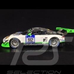 Porsche 911 typ 991 GT3 R n° 912 Manthey racing 24h Nürburgring 2016 1/18 Spark 18SG015