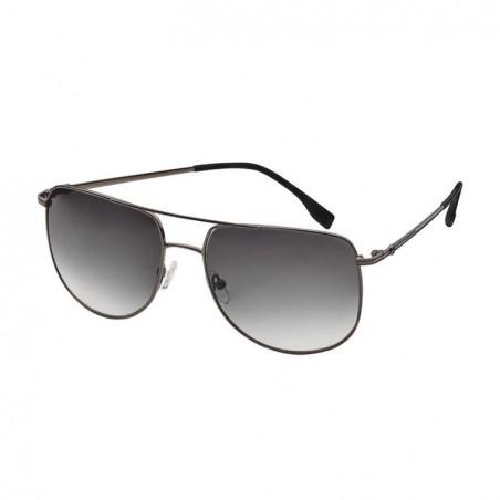 Lunettes de soleil sunglasses sonnenbrille Mercedes homme men herren Business acier monture grise verres gris steel gray frame g