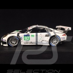 Porsche 911 typ 991 RSR n° 92 Manthey racing Le Mans 2014 1/18 Spark 18S148
