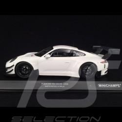 Porsche 911 typ 991 GT3 R Street version weiß 1/18 Minichamps 155186900
