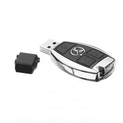 Clé USB Stick USB-Stick Mercedes 16 GB aspect clé voiture key appearance autoschlüssel aussehen noire black schwarz Mercedes-Ben