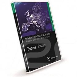 DVD Mercedes navigation NTG1 Europe Europa v19 2018-2019 Mercedes-Benz A2118270901