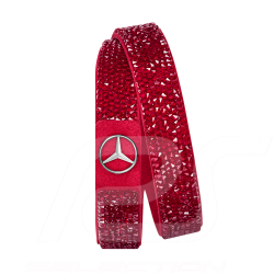 Bracelet Armband Mercedes Swarovski Milano rouge red rot Mercedes-Benz B66953585