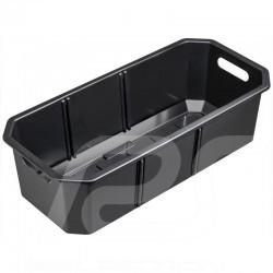 Casier rangement storage box ablagebox Mercedes 66 litres liters PVC noir black schwarz Mercedes-Benz A0008140400