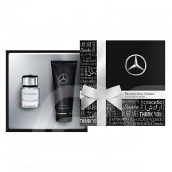 Coffret cadeau Mercedes homme eau de toilette / gel man gift set cologne / shower douche herren geschenkset köln / duschgel Merc