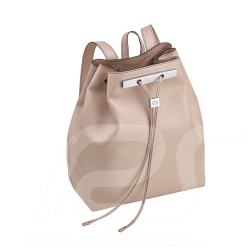 Mercedes backpack woman leather greige Mercedes-Benz B66955034