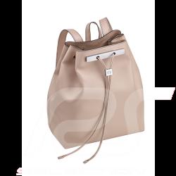 Sac à dos Mercedes backpack Rucksack femme cuir leather leder grège greige Mercedes-Benz B66955034