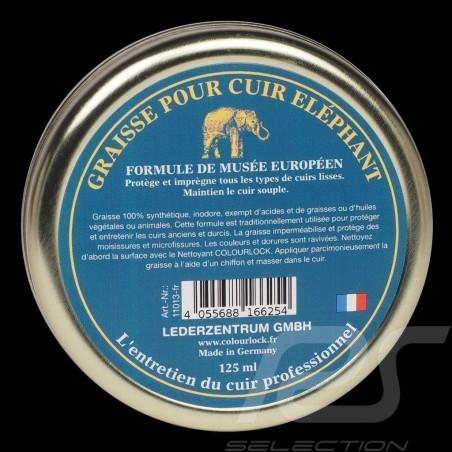 Elephant Lederfett Colourlock 125 ml Box