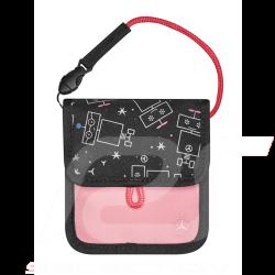 Mercedes practical bag for kids water-repellent polyester pink Mercedes-Benz B66954039