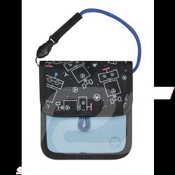 Mercedes practical bag for kids water-repellent polyester blue Mercedes-Benz B66954038