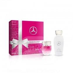 Coffret cadeau Mercedes woman gift frau geschenkset set femme eau de toilette / lotion pour le corps cologne / body köln / körpe