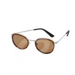 Lunettes de soleil Mercedes sunglasses women sonnenbrille frau femme édition Lifestyle acier monture or / verres marron steel go