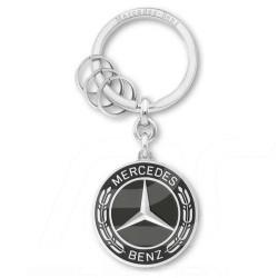 Porte-clés key chain schlüsselanhänger Mercedes Classic logo vintage Untertürkheim noir black schwarz Mercedes-Benz B66953307