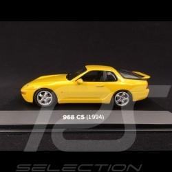 Porsche 968 CS Clubsport 1994 gelb 1/43 Minichamps WAP02004S07