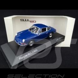 Porsche 911 2.0 1965 bleu bali Bali Blue Baliblau 1/43 Minichamps MAP02001113 Baliblau Bali Blue