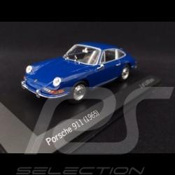 Porsche 911 2.0 1965 Bali Blue 1/43 Minichamps MAP02001113