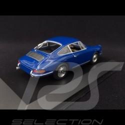 Porsche 911 2.0 1965 Baliblau 1/43 Minichamps MAP02001113