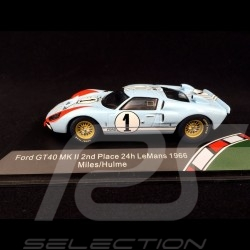 Ford GT40 Mk II n° 1 24h Le Mans 1966 Ken Miles 1/43 CMR CMR43055