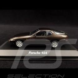 Porsche 924 1984 metallic braun 1/43 Minichamps 940062121