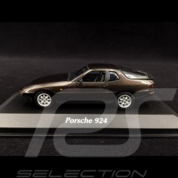 Porsche 924 1984 metallic brown 1/43 Minichamps 940062121