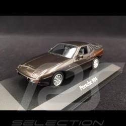 Porsche 924 1984 metallic brown 1/43 Minichamps 940062121