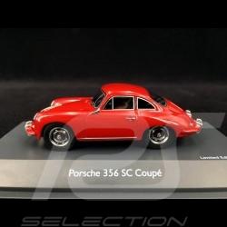 Porsche 356 SC 1965 Type C Rouge signal 1/43 Schuco 450879400 signal red signalrot