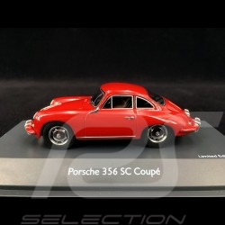 Porsche 356 SC 1965 Type C Signal red 1/43 Schuco 450879400