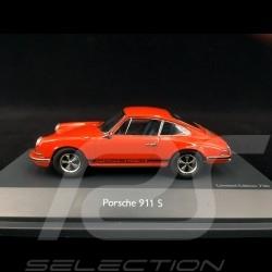 Porsche 911 S 2.2 1970 Orange sanguine Tangerine Blutorange 1/43 Schuco 450270700