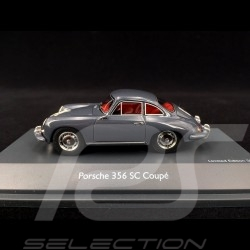 Porsche 356 SC 1965 Type C Gris ardoise 1/43 Schuco 450879500 Slate grey Schiefergrau
