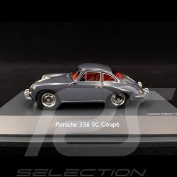 Porsche 356 SC 1965 Type C Slate grey 1/43 Schuco 450879500