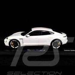 Porsche Taycan Turbo S 2019 Carrara white 1/18 Minichamps WAP0217800L
