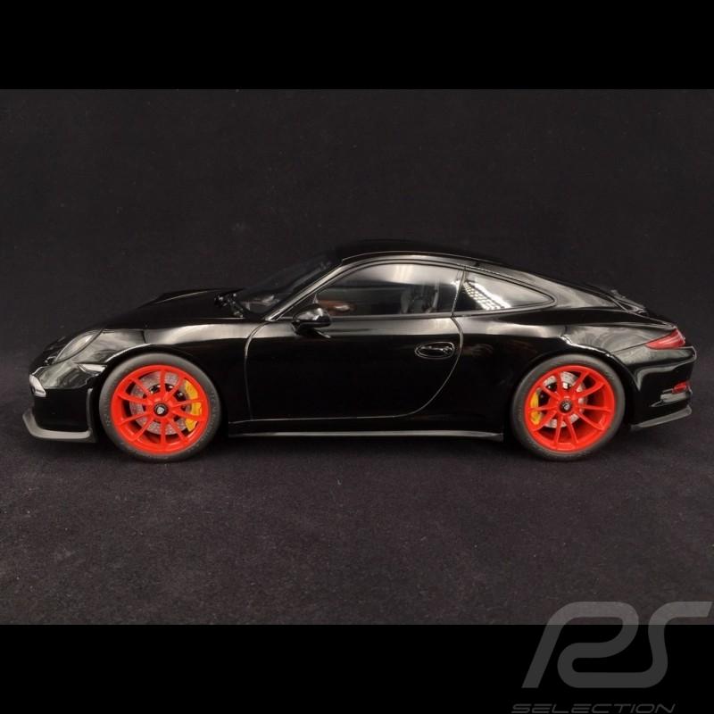 Porsche 911 R Typ 991 2016 Schwarz Rot 1 12 Minichamps 125066322 Selection Rs