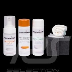 Kit de coloration et d'entretien du cuir Colourlock Leather dye repair kit Glattleder Nachtönung- und Pflegeset