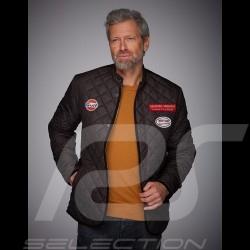 Jacket Gulf gentleman driver quilted black - men