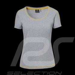 Porsche T-shirt GT4 Clubsport grau / gelb WAP341LCLS - Damen