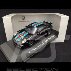 Porsche 991 Carrera S Martini schwarz 1/43 Spark WAP0202310G