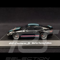 Porsche 991 Carrera S Martini noire 1/43 Spark WAP0202310G