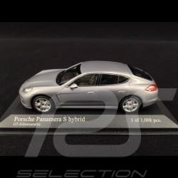Porsche Panamera S Hybrid 2011 argent GT 1/43 Minichamps 400068250