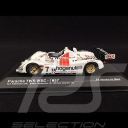 Porsche WSC-95 n° 7 TWR Sieger Le Mans 1997 1/43 Ixo