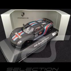 Porsche 918 Spyder Martini Prototype n° 23 noire 1/43 Spark WAP0201070E